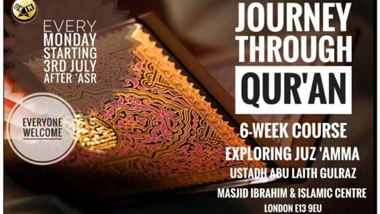 Journey through Quran